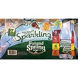 Poland Spring 24-16.9 FL OZ Sparkling Water Variety Pack, 405.6 FL OZ