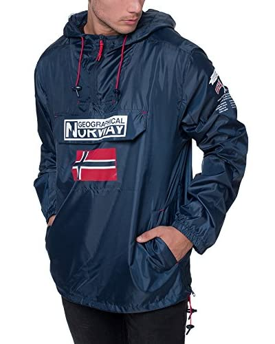 Geographical Norway Chaqueta Impermeable Brest Azul Marino