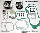 100cc Big Bore Kit Cylinder Head Piston Rings Scooter 139qmb Gy6 Engine@70002
