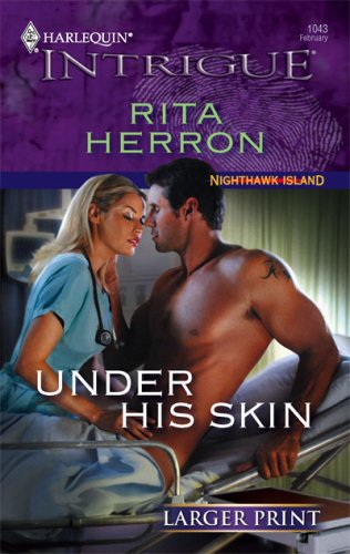 Image for Under His Skin (Larger Print Harlequin Intrigue)