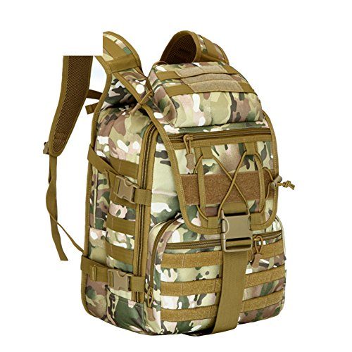 Camouflage sac à bandoulière / extérieur tactique sacs sac / alpinisme sac de voyage / sport-1 40L