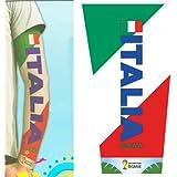 Tattoo Sleeve Italien Tattoo Ärmel Italy Offizieller FIFA WM 2014 Fanartikel A1098
