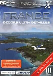 France décors ultra détaillés (add-on pour flight simulator X & 2004 ) - nouvelle édition