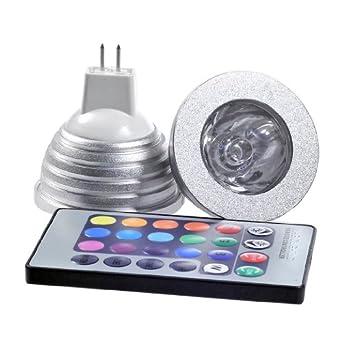 8 x magie declairage mr16 3w rgb couleurs changeantes ampoule led spot 3 bnmgfdfg. Black Bedroom Furniture Sets. Home Design Ideas