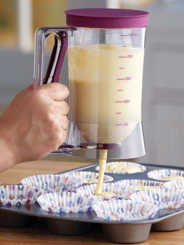 Generic Cake Batter Dispenser With Measuring Label