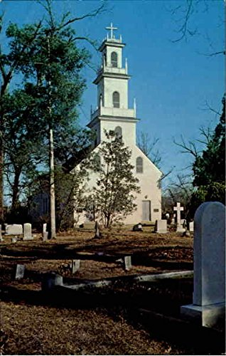St. David'S Episcopal Church Cheraw, Sc Original Vintage Postcard