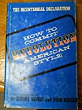 How to Commit Revolution American Style (0818400412) by Rifkin, Jeremy