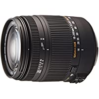 Sigma 18-250mm f/3.5-6.3 DC Macro OS HSM Zoom Lens for Canon EOS Digital SLR Cameras (Black) + $40 Gift Card