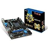 MSI A88XM-E35 Mini-ATX Motherboard (AMD FM2+ A88X, 2x DDR3, 4x USB 3, E LAN, HDMI, DVI)