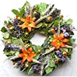 Tropical Autumn Wreath