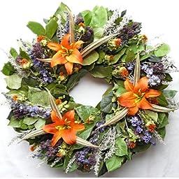 Tropical Autumn Wreath