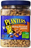 Planters Roasted Honey Peanuts, 34.5-Ounce Packages (Pack of 2)