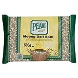 White Pearl Moong Dall Split 500 g (Pack of 10)