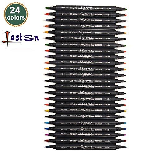 lastenr-24-colors-dual-tips-coloring-marker-pens-set-brush-tip1mm-2mm-fine-tip08mm-watercolor-art-pe