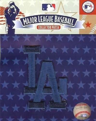 Los Angeles Dodgers L.A. Script Patch (Solid Blue) matt luke signed autographed los angeles dodgers 8x10 photo