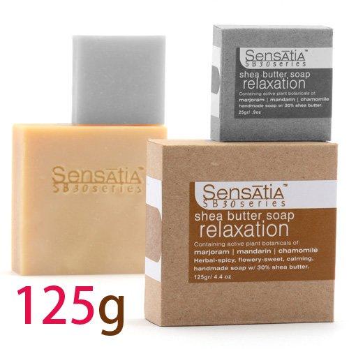 Sensatia センセイシャ シアバターソープ リラクゼーション 125g