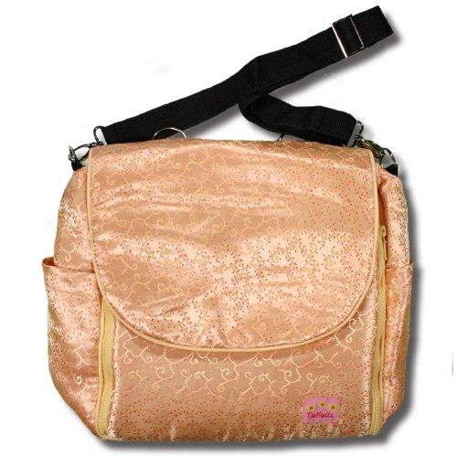 Gold Vines Silk Boutique Diaper Bag front-730001