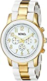 XOXO Women's XO5642 Gold and White Bracelet Analog Watch