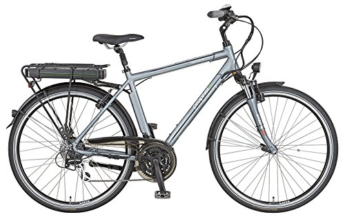 Prophete Herren E-Bike Navigator 2.1 24-G Acera, Platingrau/Matt, 52 cm, 51525-0111
