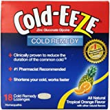 Cold-Eeze Cold Remedy Lozenges, Tropical Orange, 18 Count