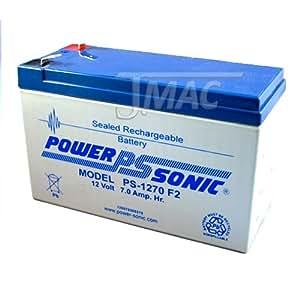 PS-1270 12 Volt 7 AH SLA Battery .250 F2 TERMINAL