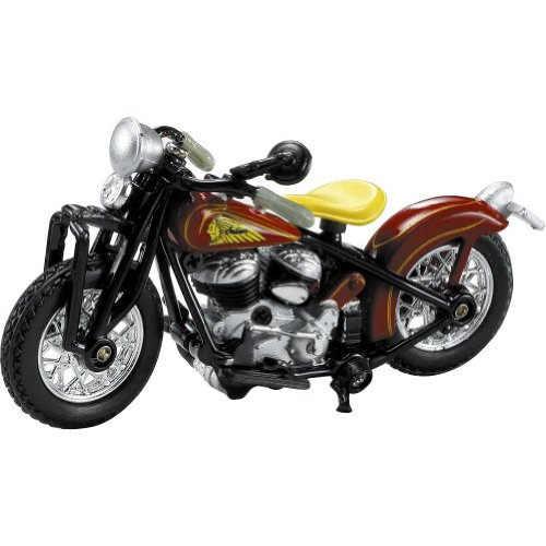 New Ray 1940 Indian Scout Board Track Racer Replica Motorcycle Toy - 1:32 Scale