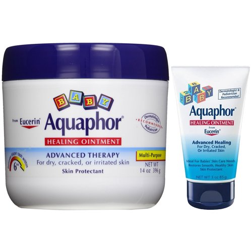 Aquaphor Baby Healing Ointment, Advanced Therapy, 14 Oz Jar Plus Convenient 3.0 Oz Tube front-20048