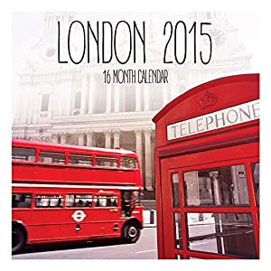London Official 2015 Calendar (Square)