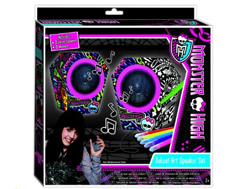 Monster High Velvet Art Speaker Set