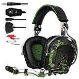 [2016 New Release]GW SADES SA926 Stereo Wired Over Ear Gaming Headset Headphones with Mic for PC/PS3/PS4/Xbox One/Xbox 360/Phone/Mac/Laptop