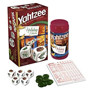 Yahtzee games: Holiday edition!