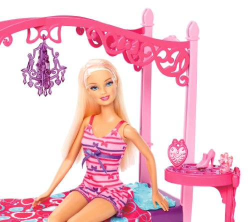 barbie glam bedroom furniture and doll set sets sets