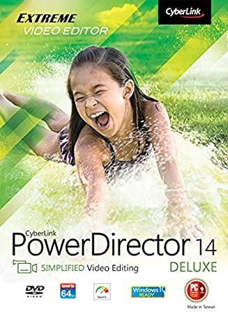 CyberLink PowerDirector 14 Deluxe [Download]