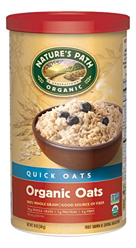 Nature's Path Organic Oven Toasted Quick Oats, 18-Ounce Canisters (Pack of 6) (Oven Toasted Oats compare prices)