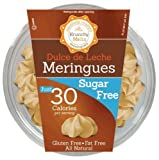 Krunchy Melts Sugar Free Meringue Cookies 2 Oz Tub (Dulch de Leche)
