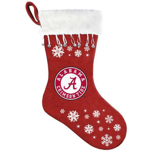 NCAA Alabama Crimson Tide Snowflake Stocking at Amazon.com