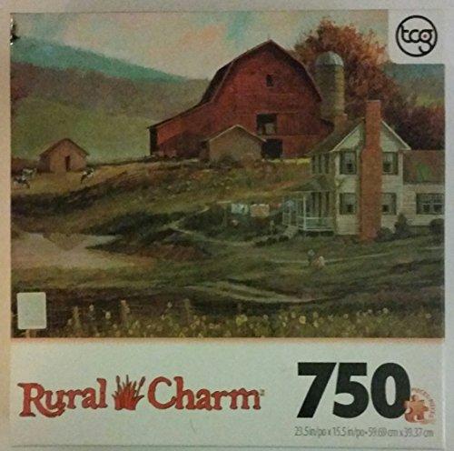 """Rural Charm 750 Piece Sure-lox Puzzle """"Farmscape"""""""