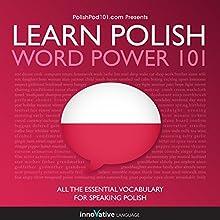Learn Polish - Word Power 101 Speech by  Innovative Language Learning Narrated by  Innovative Language Learning