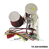 kits Mini Electric Turbo Supercharger Kit Air Filter Intake for all car Motorcycle TK-AW100WMINI