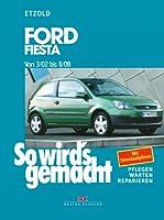 Ford Fiesta Reparaturanleitung