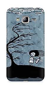 Amez designer printed 3d premium high quality back case cover for Samsung Galaxy J3 (2016 EDITION) (Girl n Tree)