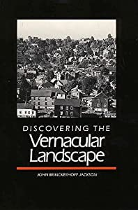 "Cover of ""Discovering the Vernacular Land..."