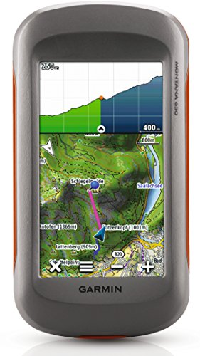 Garmin Montana 650 Navigation Device With 4 Inch Touchscreen