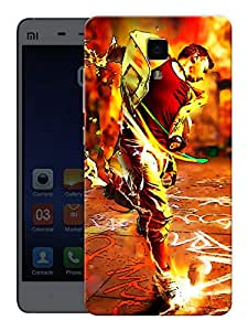 "Humor Gang Dance Life Printed Designer Mobile Back Cover For ""Xiaomi Redmi Mi4"" (3D, Matte, Premium Quality Snap On Case)"