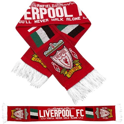 Premiership Soccer Liverpool Fan Scarf
