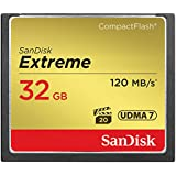 SanDisk Extreme 32GB Compact Flash Memory Card UDMA 7 Speed Up To 120MB/s- SDCFXSB-032G-G46