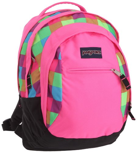 JanSport Schulrucksack Beamer, fluorescent block check, 32 liters, JTPZ69VE