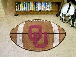 Buy Fanmats Oklahoma Sooners Football-Shaped Mats by Fanmats