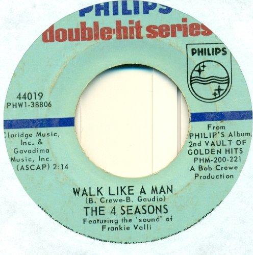 4 Seasons - Walk Like A Man 45 Rpm Single - Zortam Music
