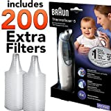 Braun Thermoscan IRT 4520 Exactemp Baby Ear Thermometer with 200 Extra Filters